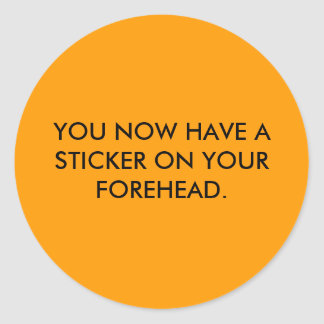 Forehead Sticker
