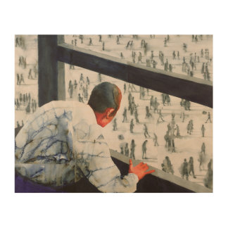 Foreign Correspondent 1987 Wood Wall Decor