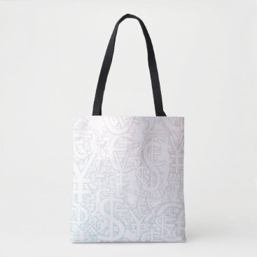 Professional Business Foreign Currency Exchange Stock Market as Concept Tote Bag