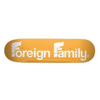 Foreign Family Logo Skate Board Decks