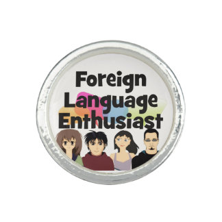 Foreign Language Enthusiast Ring