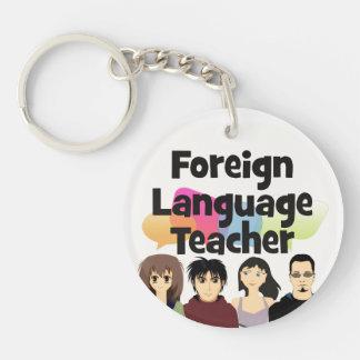 Foreign Language Teacher Keychain