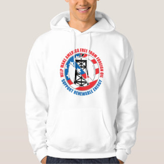Foreign Oil Hooded Pullover
