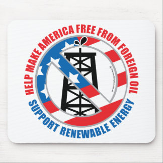Foreign Oil Mouse Pad