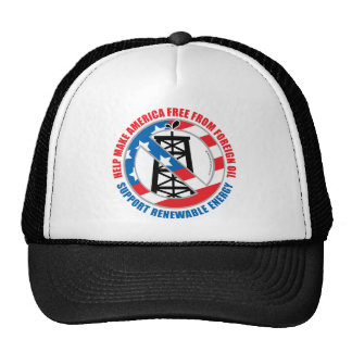 Foreign Oil Trucker Hat