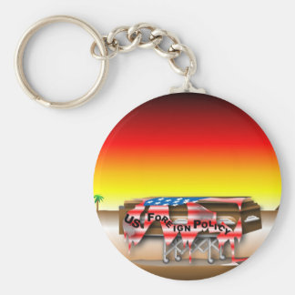 Foreign Policy Casket Keychain