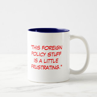 Foreign Policy Two-Tone Coffee Mug