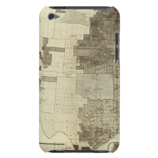 Foreign population by counties iPod Case-Mate case