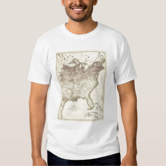 Foreign Population Proportion 1870 T-Shirt