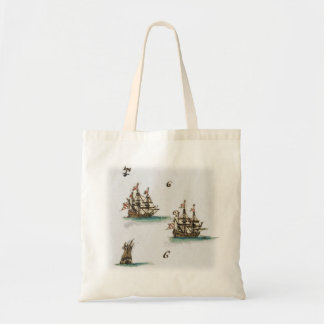 Foreign ships tote bag