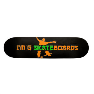 Foreign Style Font Skateboard #1