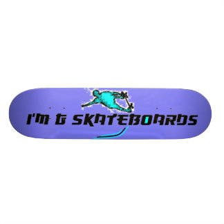 Foreign Style Font Skateboard #3