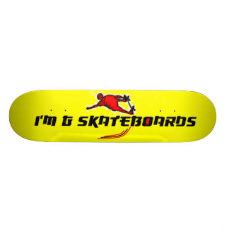 Foreign Style Font Skateboard #4