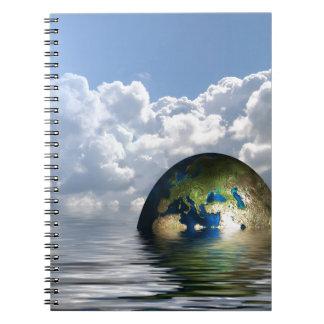 foreign-trade-62743 FANTASY DIGITAL REALISM SCIENC Note Book