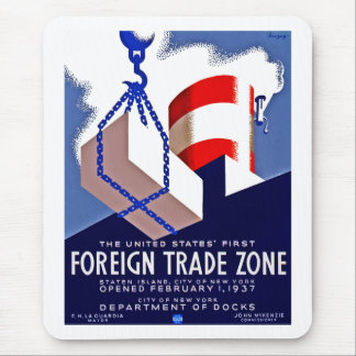 Foreign Trade Zone Mouse Pad