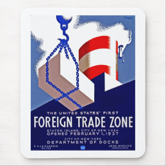 Foreign Trade Zone Mousepad