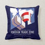 Foreign Trade Zone Pillows