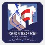 Foreign Trade Zone Sticker