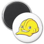 Foreman Engineer Yellow Hard Hat Refrigerator Magnets