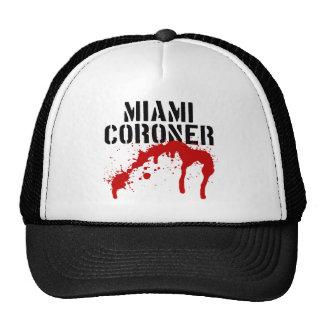 Forense del paladio del metro de Miami Gorro