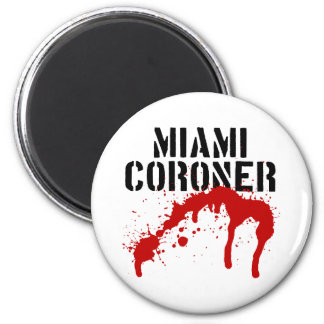 Forense del paladio del metro de Miami Imán Redondo 5 Cm