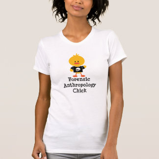 Forensic Anthropology Chick Distressed Tee