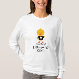 Forensic Anthropology Chick Long Sleeve T shirt
