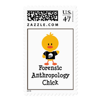 Forensic Anthropology Chick Postage Stamps