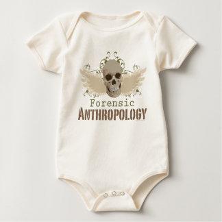 Forensic Anthropology Organic Baby Bodysuit