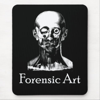 Forensic Art Mouse Pad