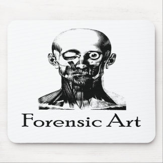 Forensic Art Mousepads