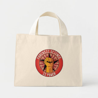 Forensic Science Is Power Tote Bags
