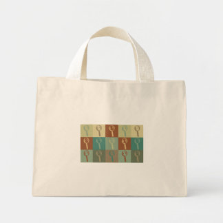 Forensic Science Pop Art Canvas Bags