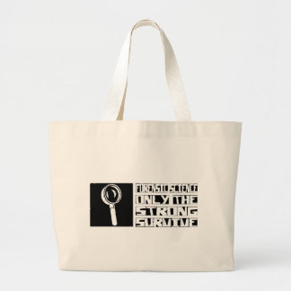Forensic Science Survive Large Tote Bag
