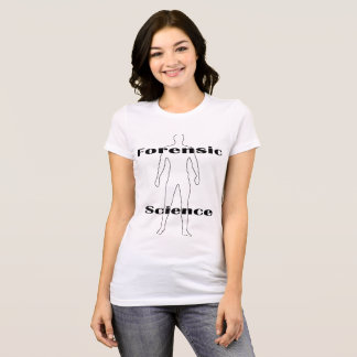 Forensic Science Women's T-shirt