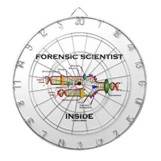 Forensic Scientist Inside (DNA Replication) Dartboards