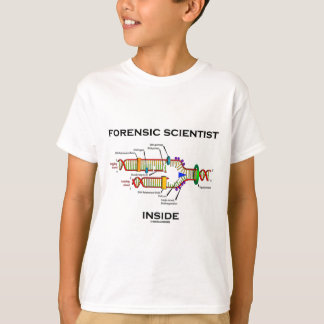 Forensic Scientist Inside (DNA Replication) T-Shirt