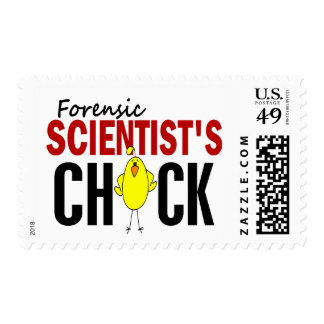 Forensic Scientist's Chick Postage
