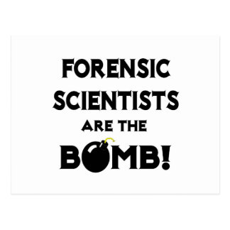 Forensic Scientists Are The Bomb! Postcard