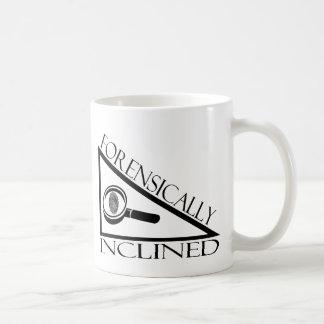 Forensically Inclined Coffee Mug