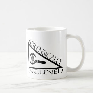 Forensically Inclined Classic White Coffee Mug