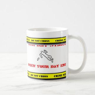 forensics 2, forensics 1 classic white coffee mug