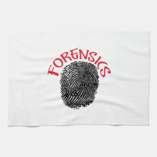 FORENSICS HAND TOWEL