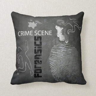 FORENSICS pillow