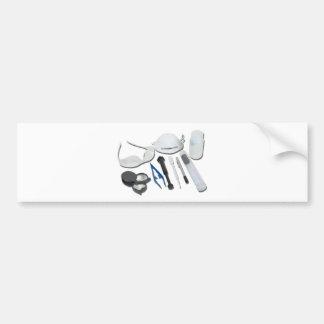 ForensicTools052711 Etiqueta De Parachoque