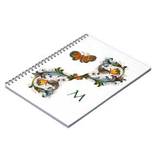 Forentine pintó el cuaderno del jardín