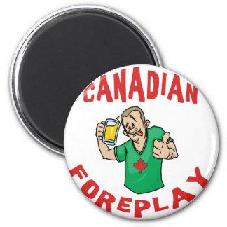 Foreplay canadiense imán para frigorífico