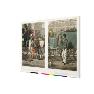 Fore's Contrasts: The Driver of 1832, The Driver o Canvas Print