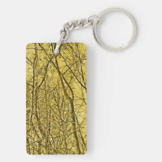 Forest Aglow Keychain