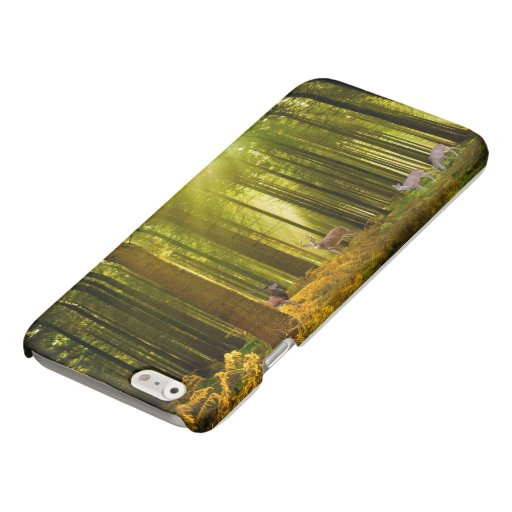 Forest and Deer iPhone-6-6s-Glossy-Finish-Case Glossy iPhone 6 Case